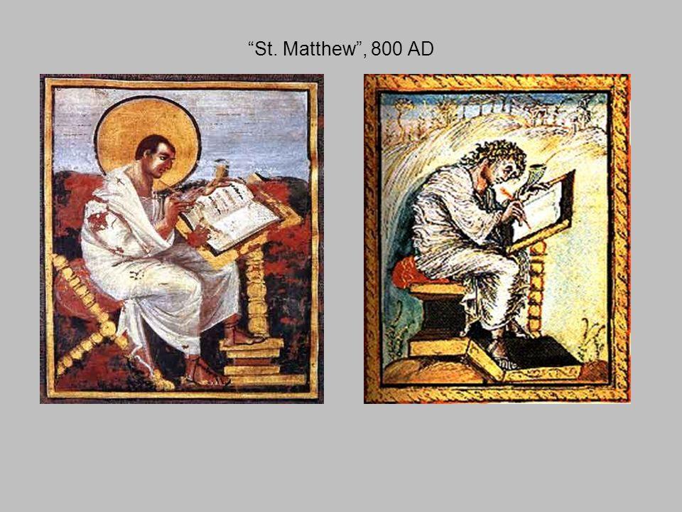 St. Matthew , 800 AD