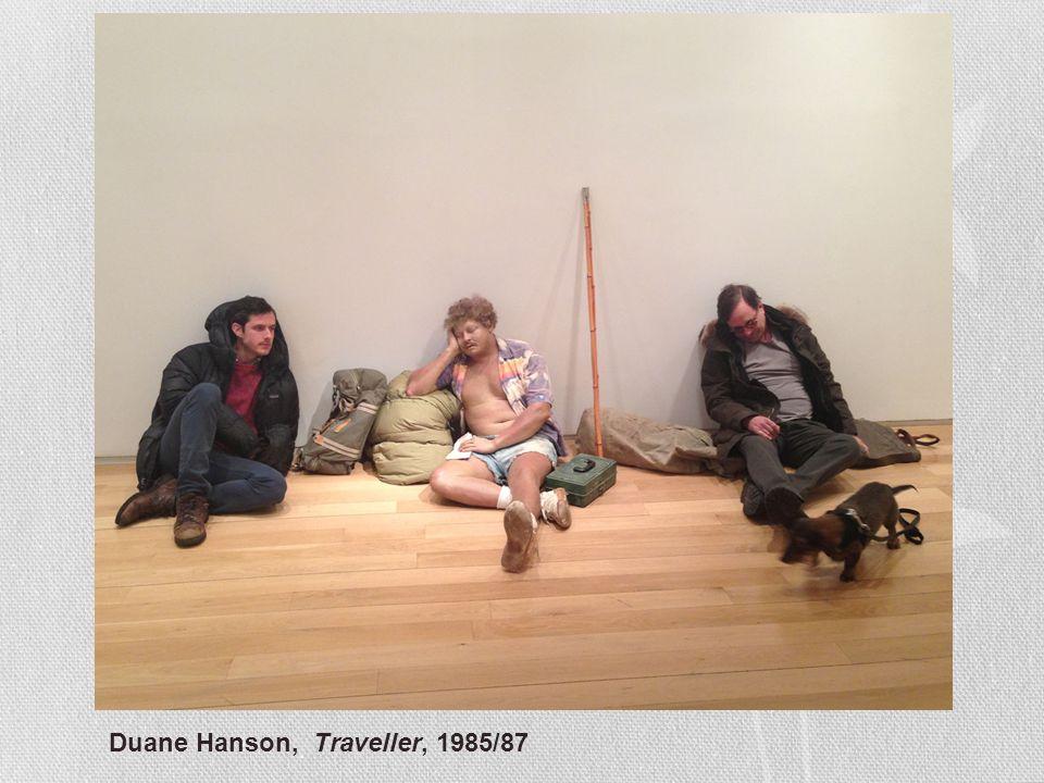 Duane Hanson, Traveller, 1985/87