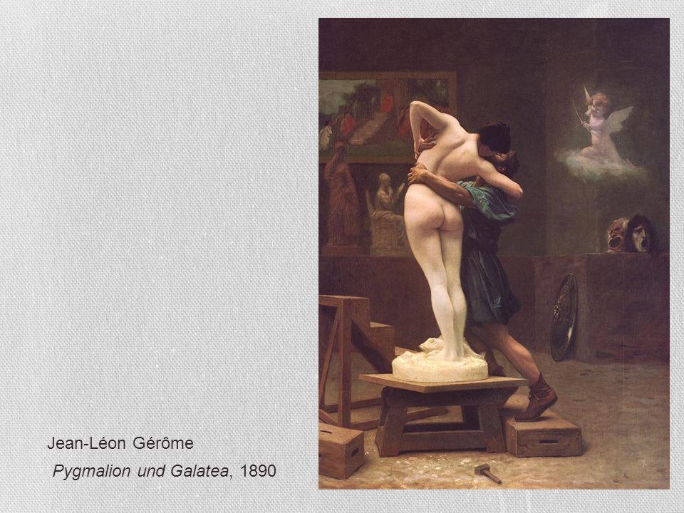 Jean-Léon Gérôme Pygmalion und Galatea, 1890