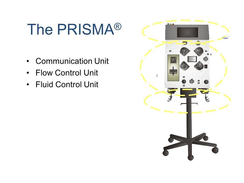 The PRISMA ® Communication Unit Flow Control Unit Fluid Control Unit