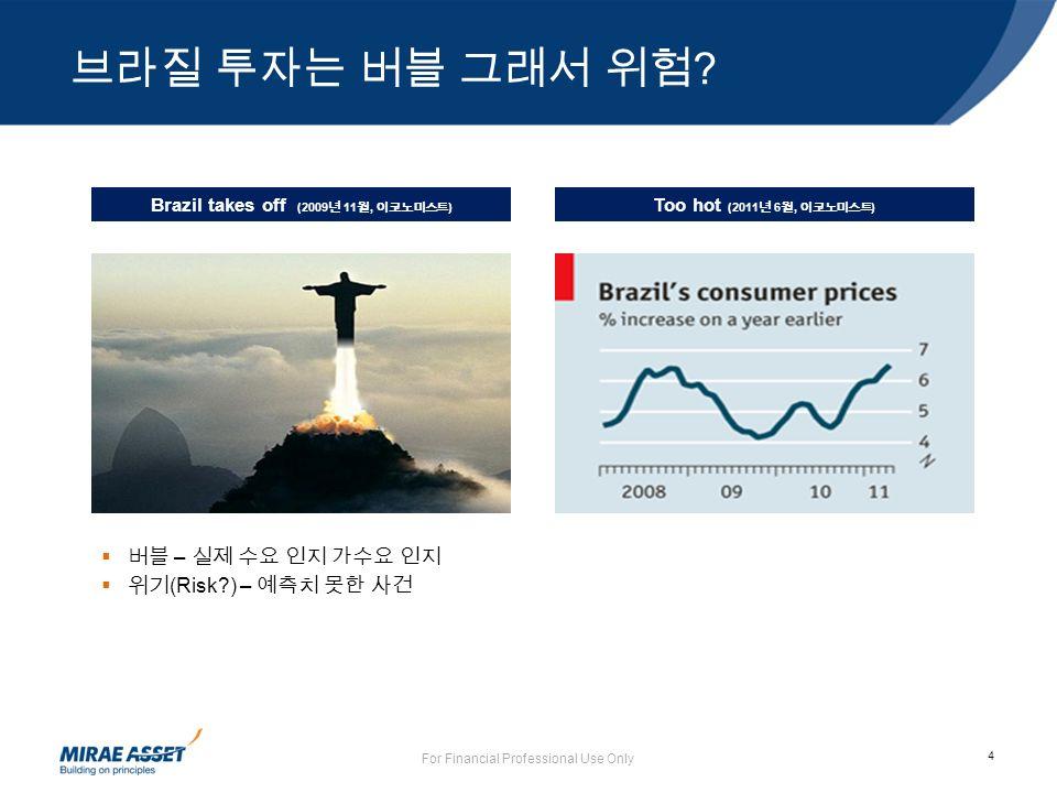 4 브라질 투자는 버블 그래서 위험 .