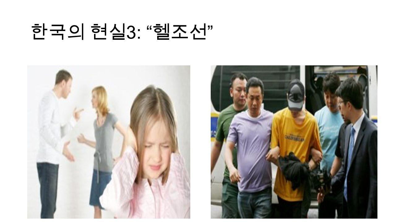 한국의 현실 3: 헬조선