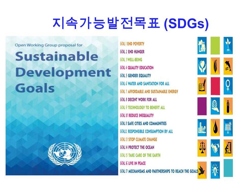 지속가능발전목표 (SDGs)