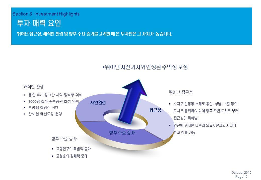투자 매력 요인 Section 3.