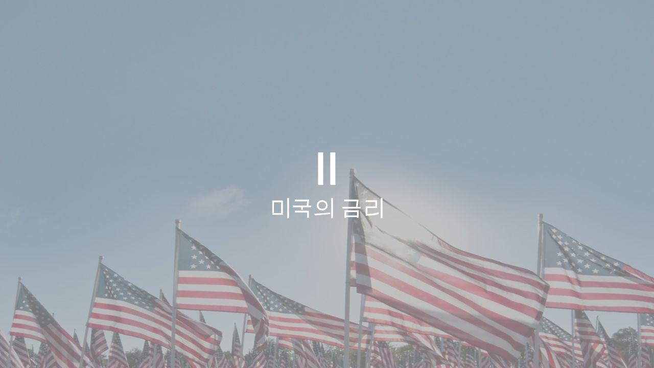 Ⅱ 미국의 금리
