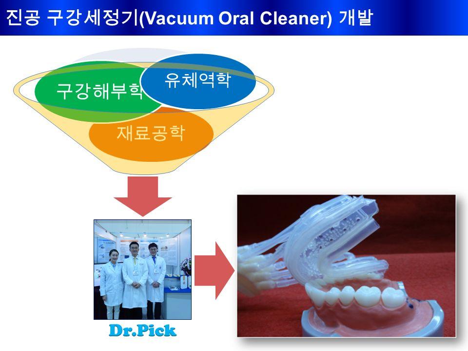 진공 구강세정기 (Vacuum Oral Cleaner) 개발 재료공학 구강해부학 유체역학