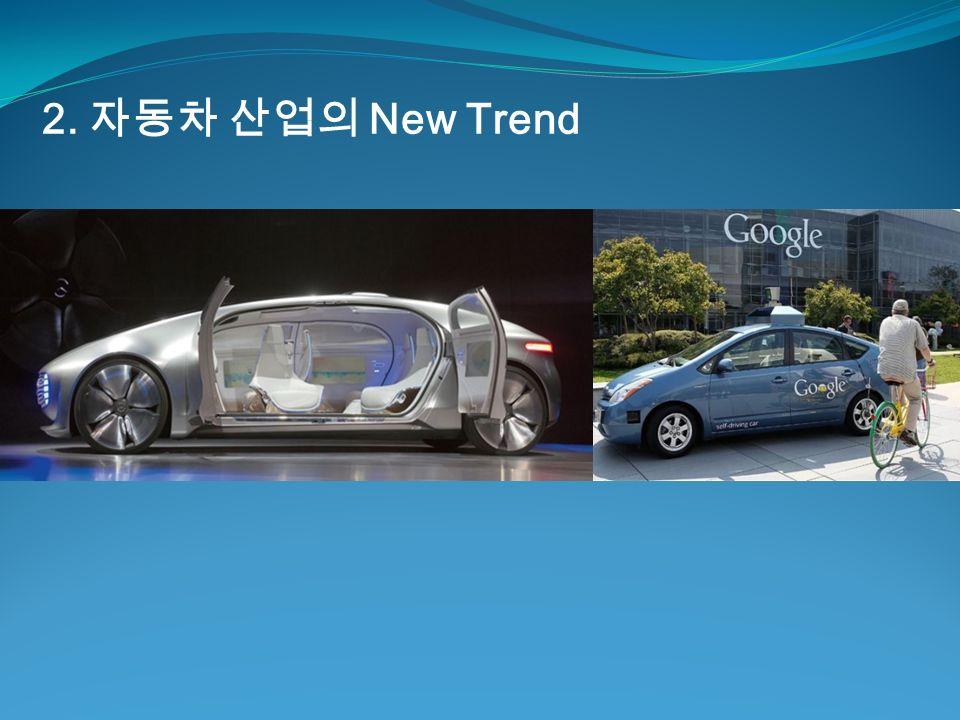 2. 자동차 산업의 New Trend