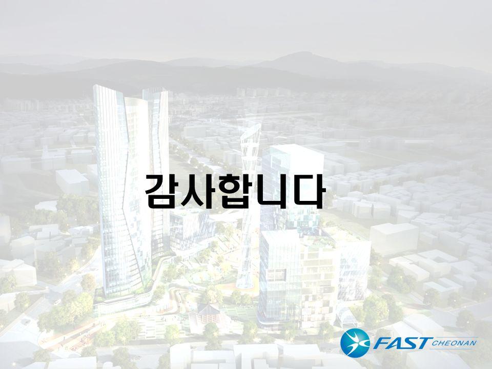 도시재생사업 복합개발형 테스트베드 유치 31p/48p 감사합니다