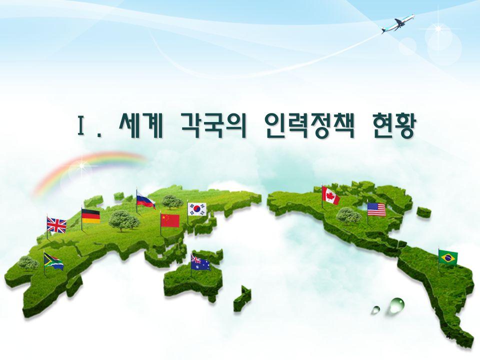 Ⅰ. 세계 각국의 인력정책 현황 4