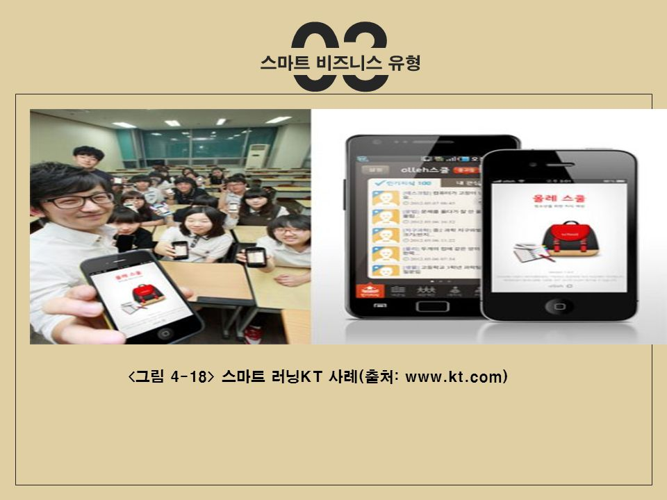 03 스마트 러닝KT 사례(출처: www.kt.com)