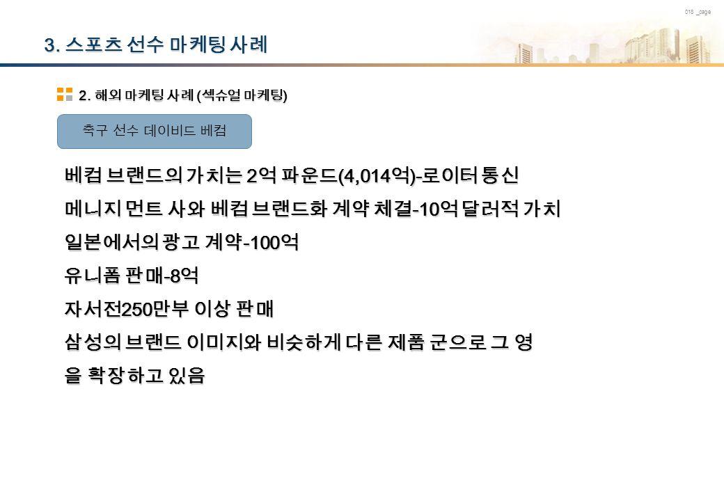 018 _page 3. 스포츠 선수 마케팅 사례 2.