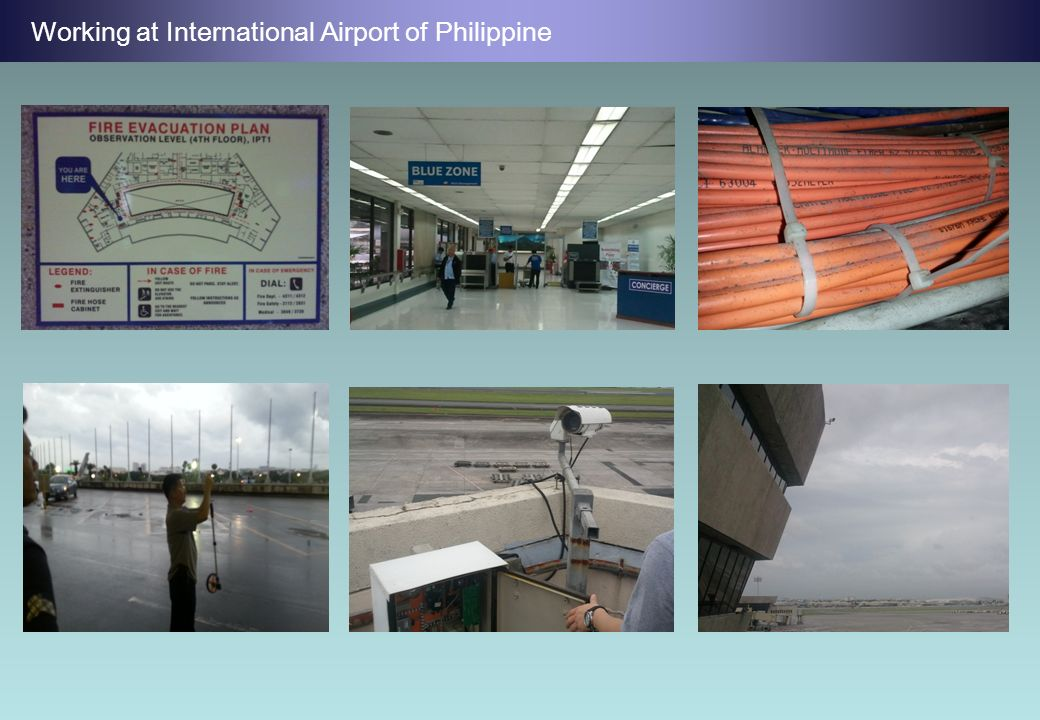 Working at International Airport of Philippine
