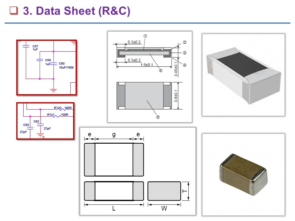  3. Data Sheet (R&C)