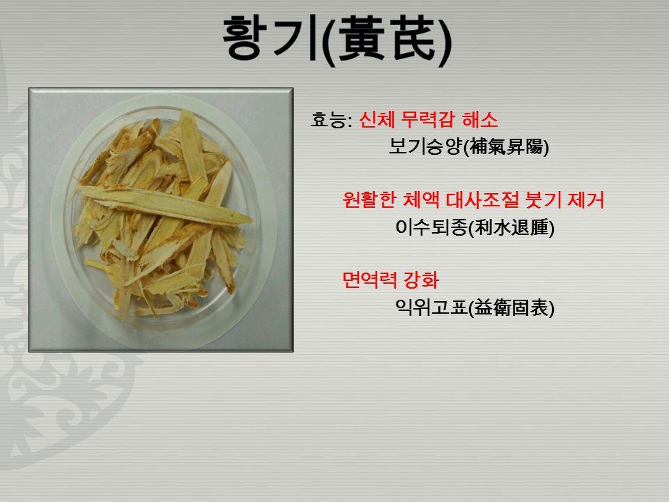효능 : 신장 강화 기초 대사물 보충 보신익정 ( 補腎益精 ) 혈액과 체액의 보충 양혈자음 ( 養血滋陰 )