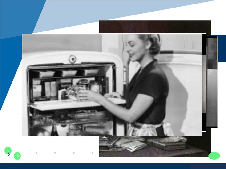www.company.com 냉장고의 역사 1862 년 냉장고의 탄생 : 식생활의 혁명이 시작되다 1918 년 최초의 가정용 냉장고 등장 : 식탁 위에 놓인 신선함 1920 년 프레온 냉매 발명 : 안전을 누리다 1930 년 소형 컴프레서 탄생 : 가정용 냉장고의 비약적인 신화 1990 년 양문형 냉장고 등장 : 주방의 풍경을 바꾸다 LGLG S