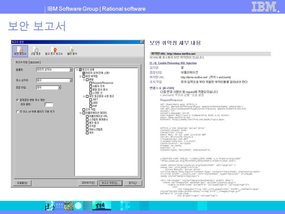 IBM Software Group © 2007 IBM Corporation 온라인 사업에 영향을 주는